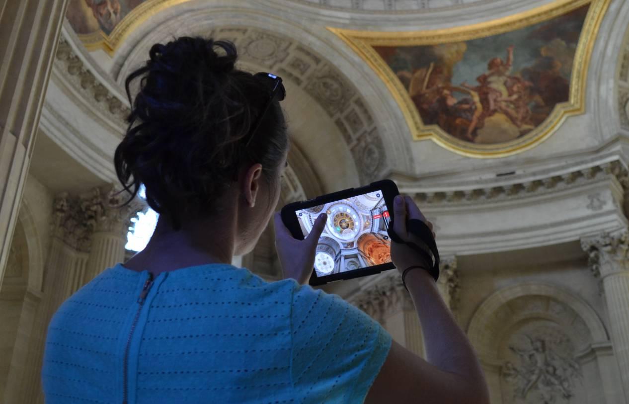 Réalité augmentée tablette