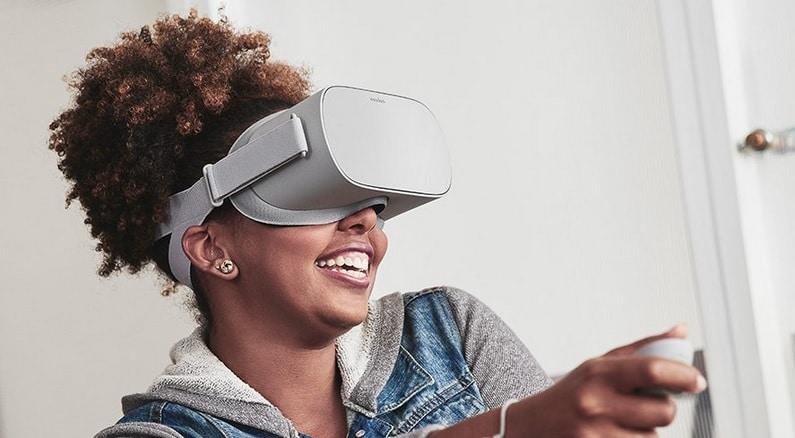 Casque réalité virtuelle multimédia