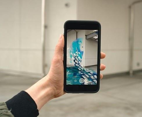 Réalité augmentée smartphone