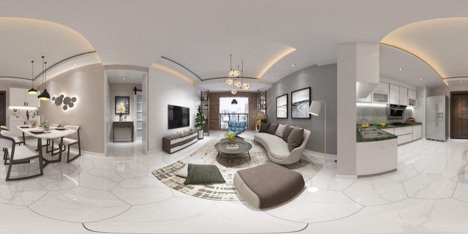 Réalité virtuelle visite immobilière