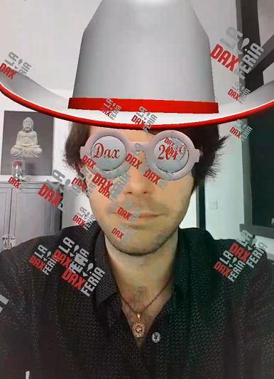 réalité augmentée filtre
