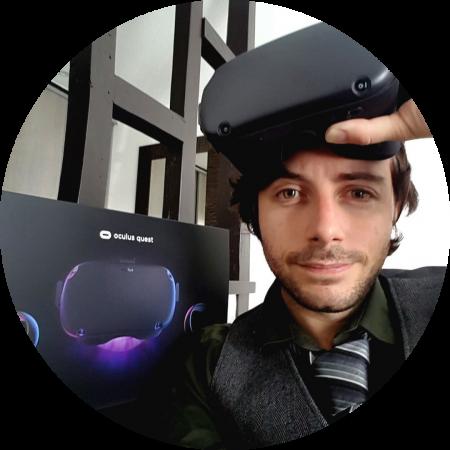 Fondateur création d'application de réalité virtuelle et réalité augmentée